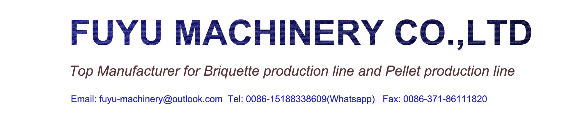 FUYU Machinery Co.,Ltd-coal briquette line/charcoal briquette line