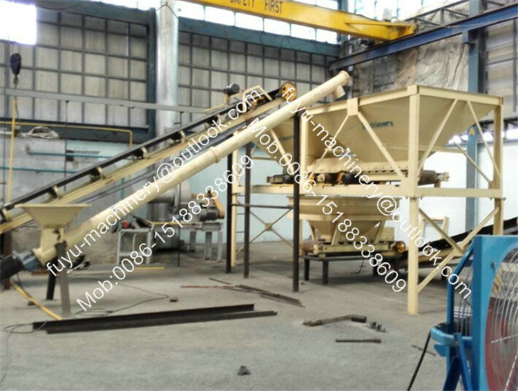 aluminium ash briquette press