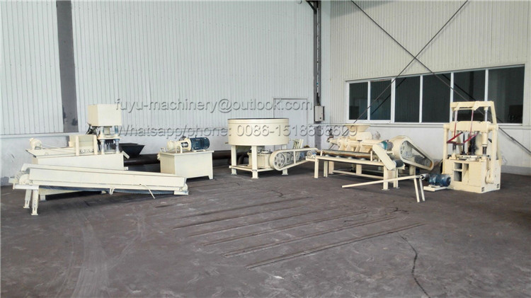 charcoal briquette production line